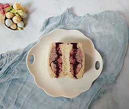 紫米香芋三明治的做法