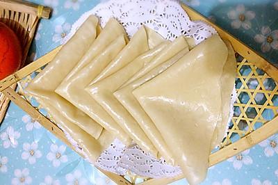 美味薄春饼的简易做法