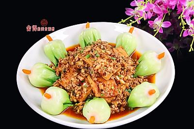 香菇豆腐扒菜胆