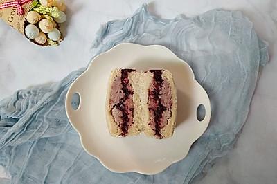 紫米香芋三明治