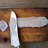 蒜蓉粉丝蒸鱼片的做法图解2