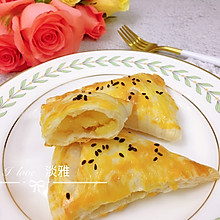 #餐桌上的春日限定#酥脆苹果派(手抓饼版)