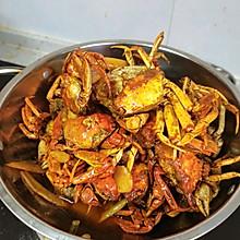 葱油香辣蟹