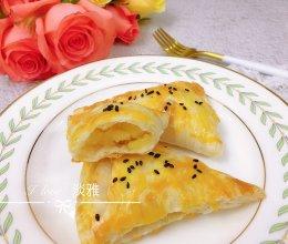 #餐桌上的春日限定#酥脆苹果派(手抓饼版)的做法