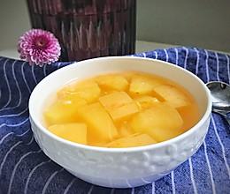 苹果甜汤——早餐系列的做法
