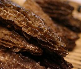 羊肚菌炒肉的做法
