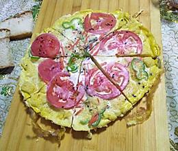 鸡蛋披萨这样做,一点不粘锅的做法
