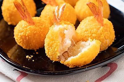 酥脆的外壳,柔嫩的口感,浓郁的奶香,超好吃的芝士虾球