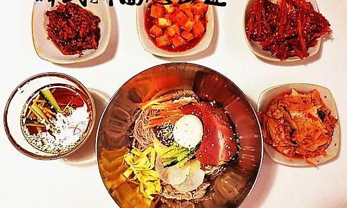 韩式凉拌面(冷面)的做法
