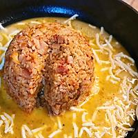 #助力高考营养餐# 汉拿山炒饭,剩饭这样做,百吃不厌的做法图解11