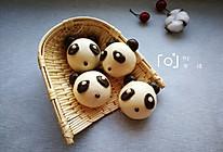 花样馒头-熊猫馒头的做法