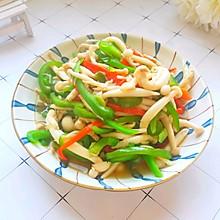 #快手又营养,我家的冬日必备菜品#简单快手素炒蟹黄菇