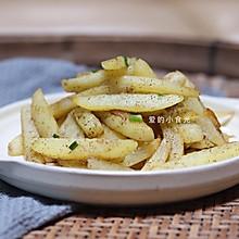 椒盐土豆条(比薯条好吃~)