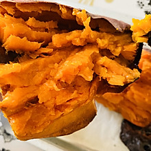 烤箱版❤️爆浆烤红薯