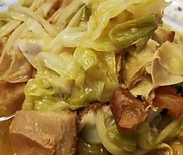 干豆腐炖白菜的做法