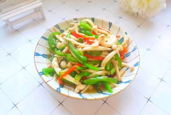 简单快手素炒蟹黄菇的做法