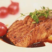 最简单的仪式感料理:照烧三文鱼