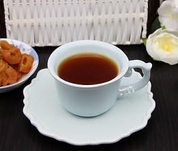冬天口干,喝雪菊山楂茶的做法