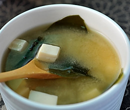 日式味噌汤的做法