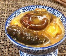 葱香花胶焖海参的做法