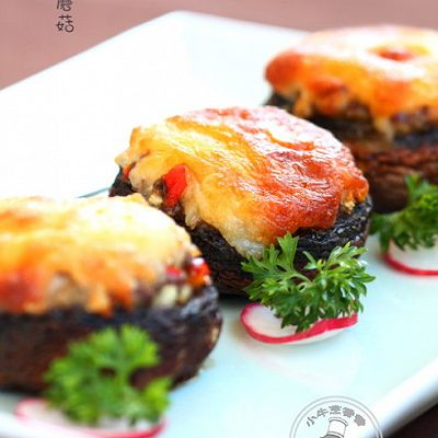 焗烤大蘑菇
