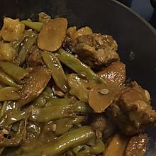 土豆芸豆炖排骨