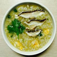 咸蛋香菇粥