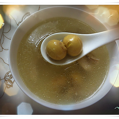节日餐桌上的汤水---猪肚煲鸡汤(电压力锅版)