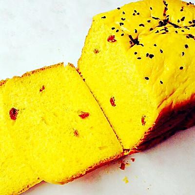 超柔软细腻南瓜果馅土司--东菱DL-T12面包机试用报告五