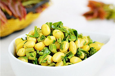 珍选捞汁香椿黄豆