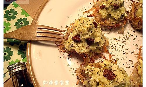 土豆沙拉盏的做法