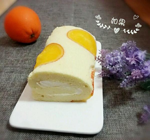 香橙蛋糕卷的做法