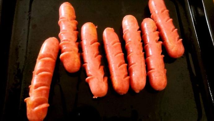 烤箱版热狗