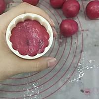 火龙果藜麦蔓越莓冰皮月饼的做法图解24