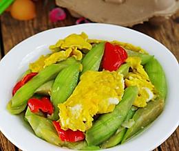 鸡蛋炒丝瓜的做法