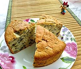#今天吃什么#茼蒿芝麻戚风蛋糕的做法