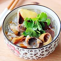 一碗回味久久的·鸭血粉丝汤·的做法图解6