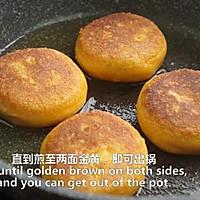 一根香蕉,一碗糯米粉,一块地瓜,就能做出美味的红薯香蕉糯米饼的做法图解24