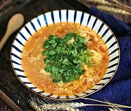 #福气年夜菜#西红柿疙瘩汤的做法