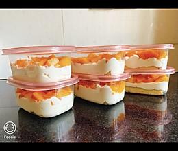 芒果蛋糕盒子的做法