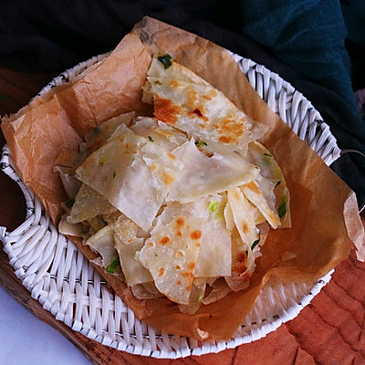 饺子皮葱油饼