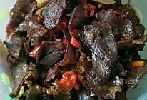 腊牛肉的做法