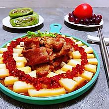 #元宵节美食大赏#剁椒蒸山药排骨