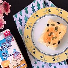 舒芙蕾坚果蓝莓蛋糕