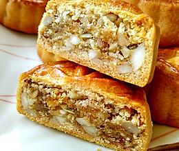 #中秋宴,名厨味# 广式五仁瑶柱月饼的做法