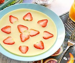 草莓酸奶饼 宝宝辅食食谱的做法