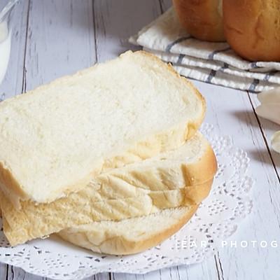 炭烧酸奶波兰种北海道吐司 软到不知所措的早餐面包