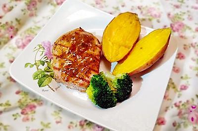 蒜烤猪排——利仁电火锅试用菜谱之煎