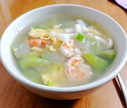 #夏日消暑,非它莫属#丝瓜蘑菇汤,不用爆锅版的的做法