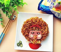 摩丝*摩丝~吃面了!#小虾创意料理#